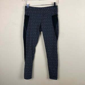 Lucy - Heathered Gray Leggings 7/8 Pockets